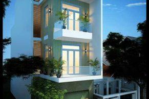 mẫu thiết kế nhà phố 3 tầng 5x18m đẹp