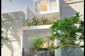 mẫu thiết kế nhà đẹp 2 tầng mặt tiền 4m