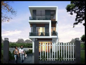Biệt thự mini 2 tầng 85m2 phong cách hiện đại đầy sang trọng và đẳng cấp