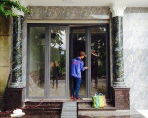 Cửa hàng nhôm kính Gò Vấp Tphcm