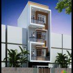 Mẫu thiết kế nhà phố đẹp 4 tầng phong cách hiện đại 5x12m lịch lãm và sắc nét trên từng chi tiết