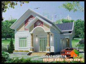Thông tin dự án mẫu nhà cấp 4 mái thái đẹp 170m2 kiến trúc hiện đại đơn giản