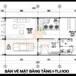 Bản vẽ thiết kế biệt thự 3 tầng tân cổ điển Pháp 140m2 hiện đại tại Đồng Nai
