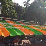 Thi công mái xếp di động giá rẻ tại Thủ Dầu Một – Bình Dương