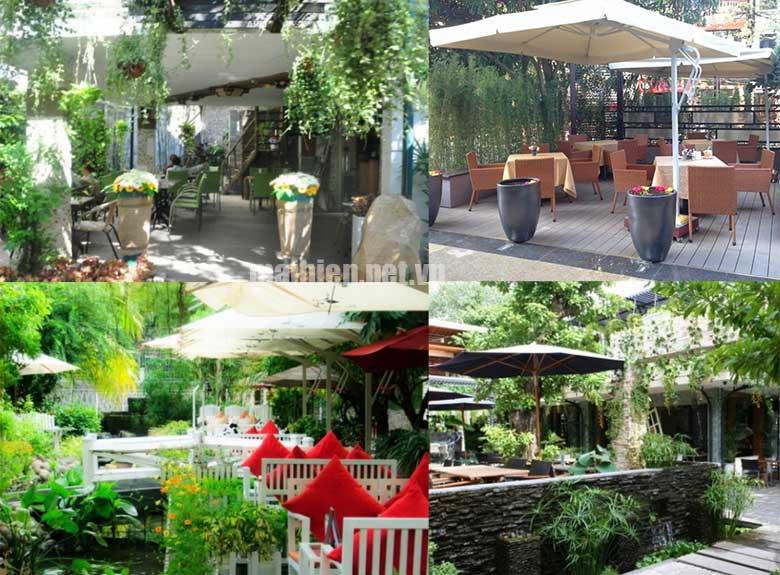 Thiết kế mái che quán cafe sân vườn đẹp – Thi công mái che quán cafe giá rẻ và uy tín nhất tại Tphcm