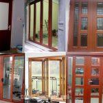 Thi công cửa nhôm giả gỗ cao cấp đẹp Uy Tín nhất tại Tphcm