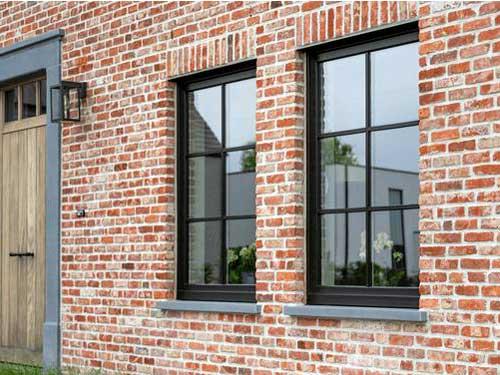 Cửa sổ nhôm kính đẹp chia ô